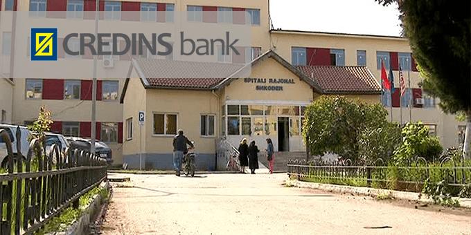 Credins Bank mbështet Spitalin Rajonal Shkodër
