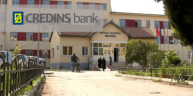 Spitali Rajonal Shkodër Credins Bank