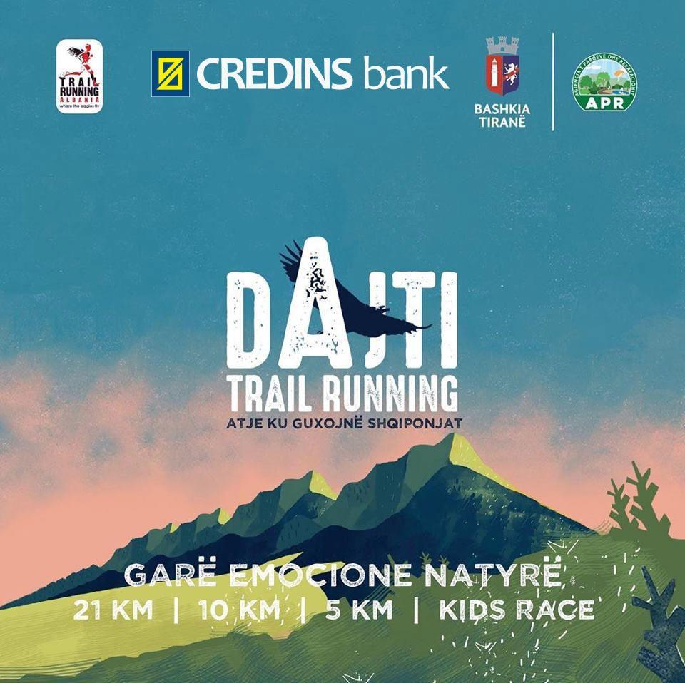 "Credins mbështet ""Dajti Trail Running"""