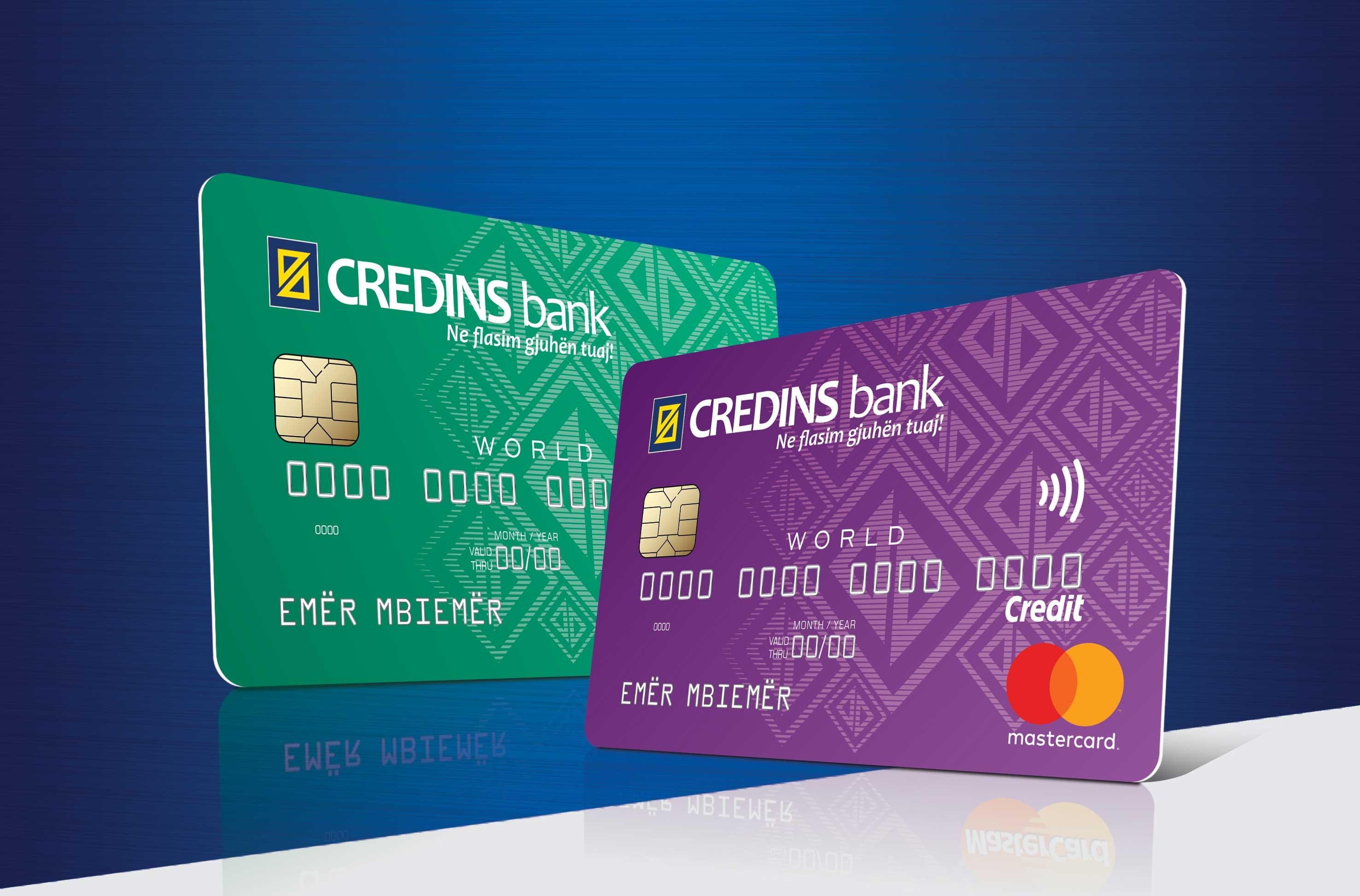 credins bank mastercard