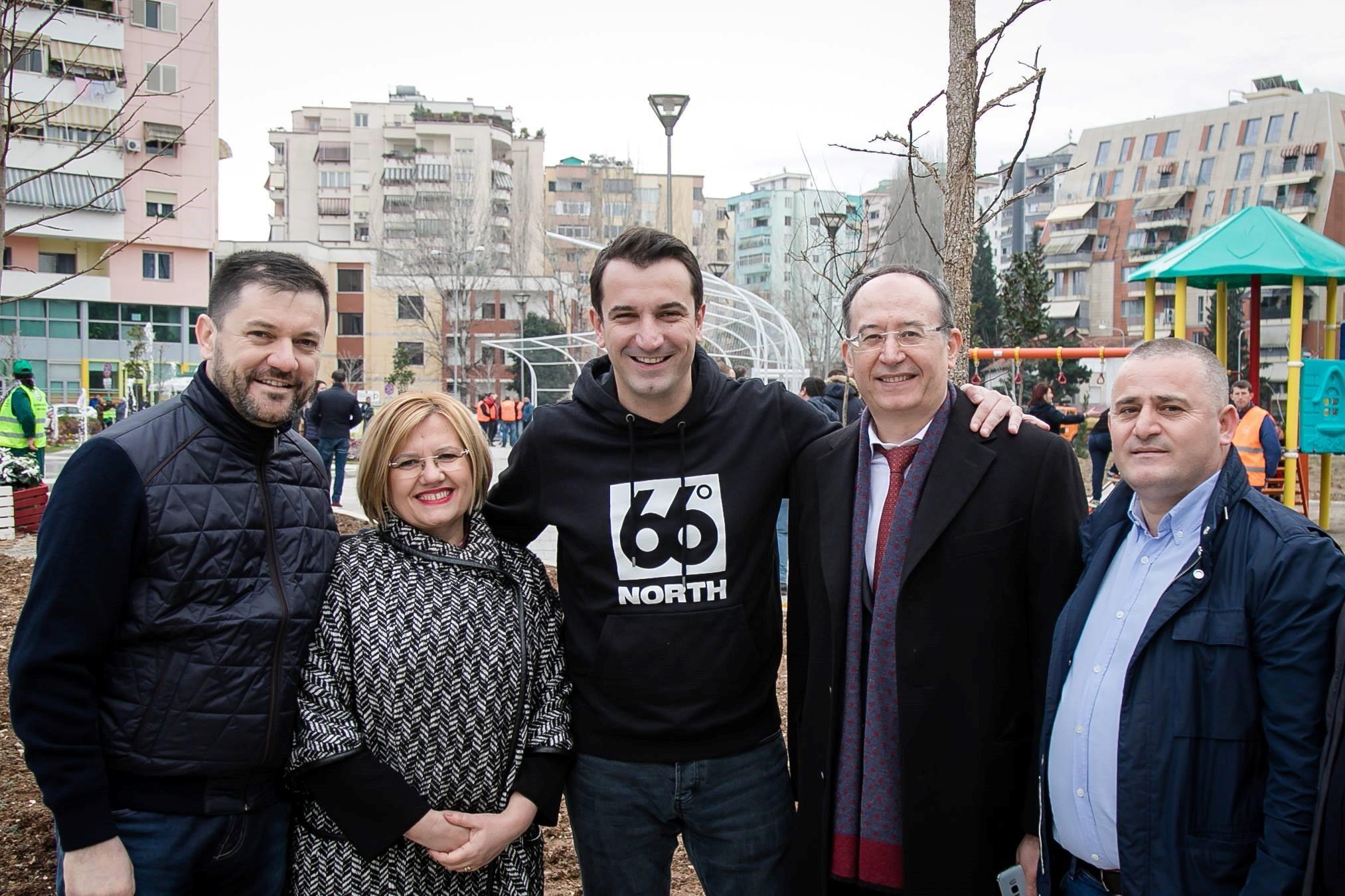 Credins mbështet Bashkinë Tiranë
