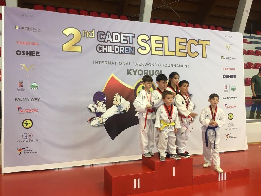 Credins Mbështet Kampionatin e Taekwondo