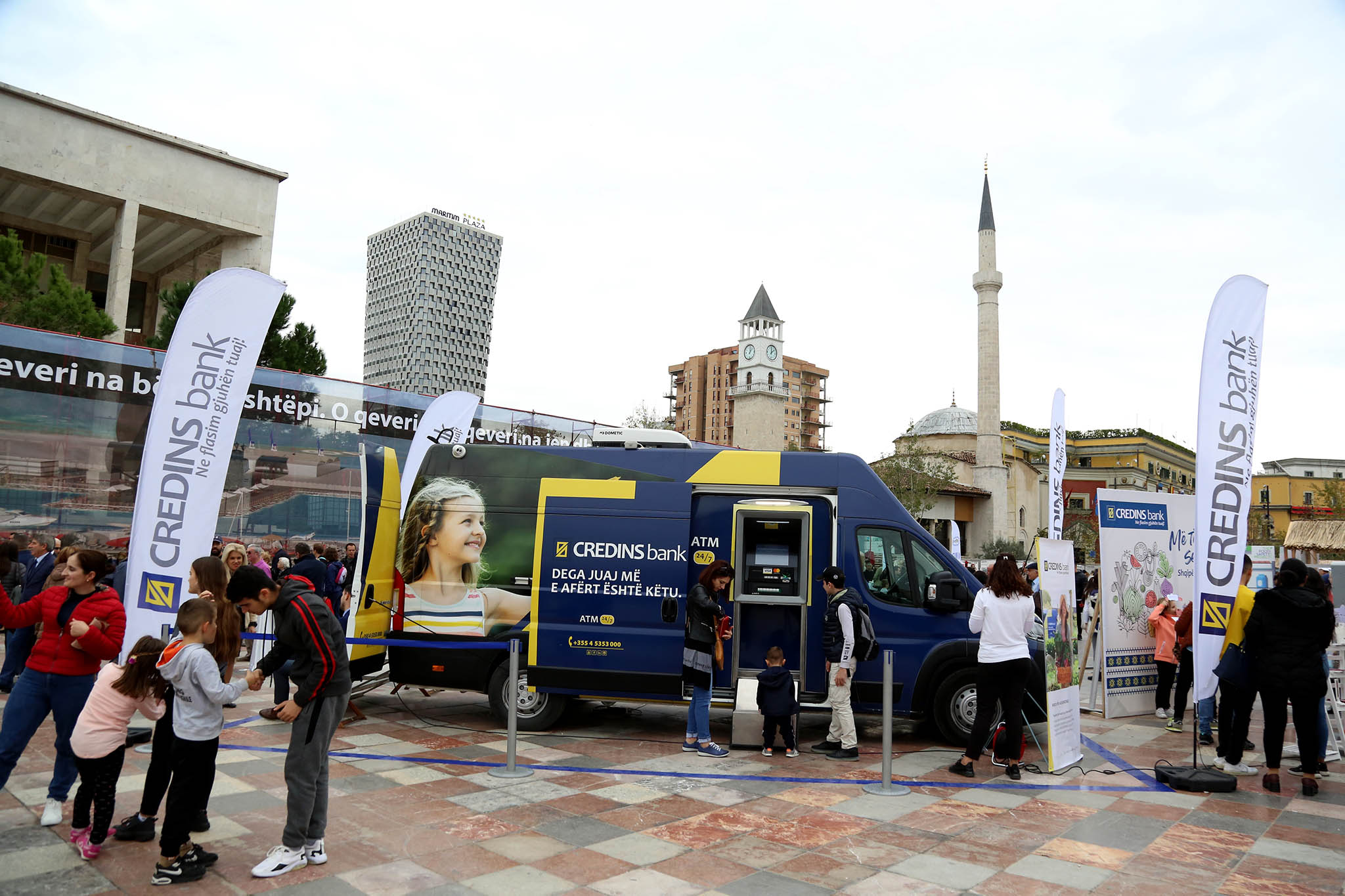Shqipëria punon tokën Credins Bank