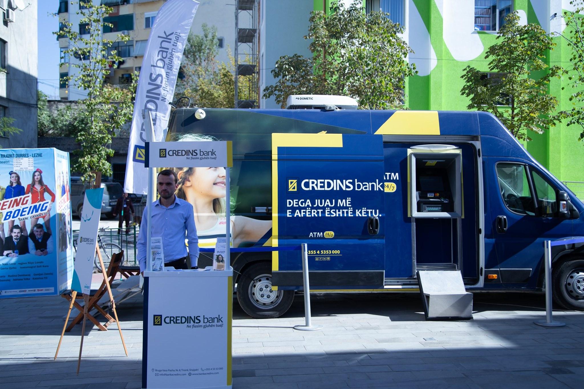 Banka lëvizëse nga Credins Bank
