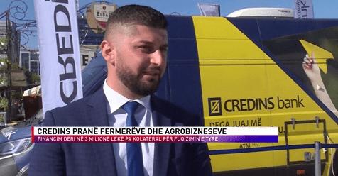 Credin Bank Panairi Tirana Agro 100